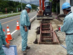 下水道復旧工事